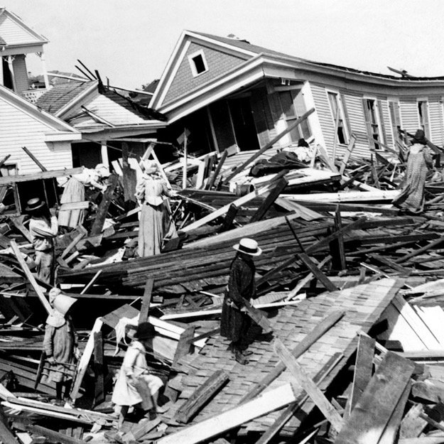 Deadliest Disasters in American History Galveston Hurricane