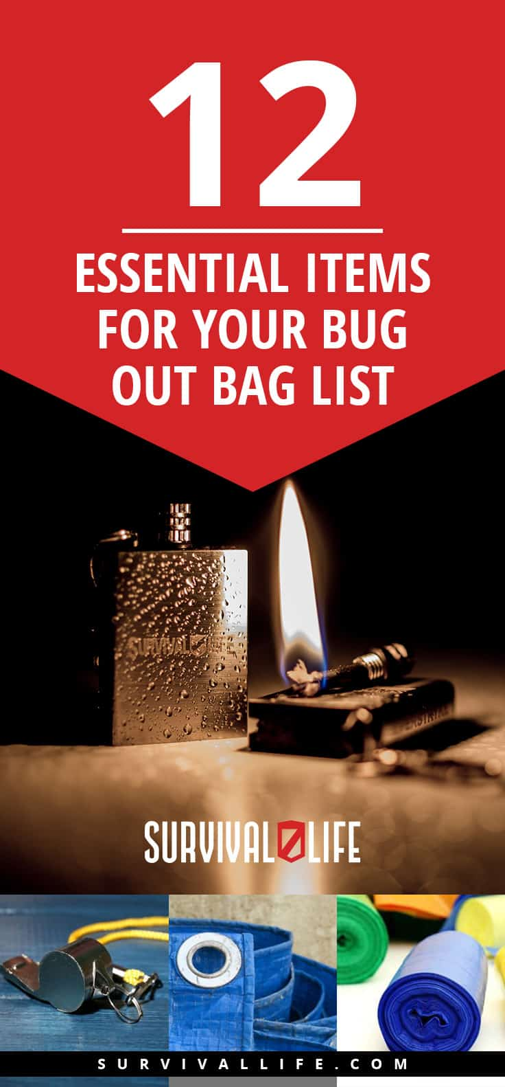 12 Essential Items for Bug Out Bag