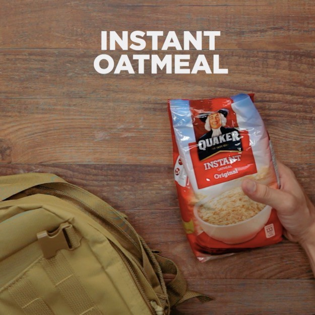 Survival Foods That Will Save You in a Disaster Instant Oatmeal