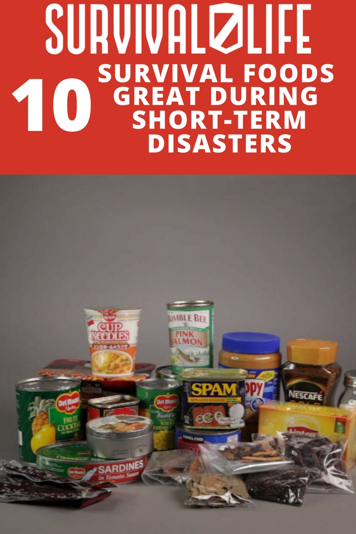 Survival Foods That Are Great During Short-Term Disasters