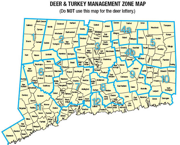 Licenses and Firearms Deer Hunting Permits | Connecticut Hunting Laws and Regulations