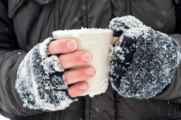 hands-holding-cup-with-ice Surviving Hypothermia: What to do Until Medical Help Arrives