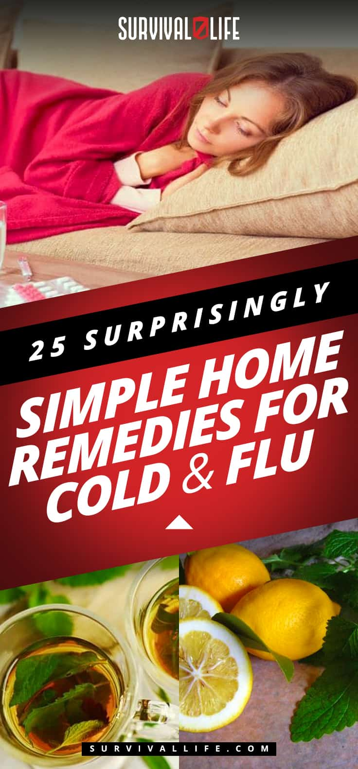 Placard   Home Remedies For Cold And Flu   Home Remedies For Cold And Flu   Surprisingly Simple Natural Relief