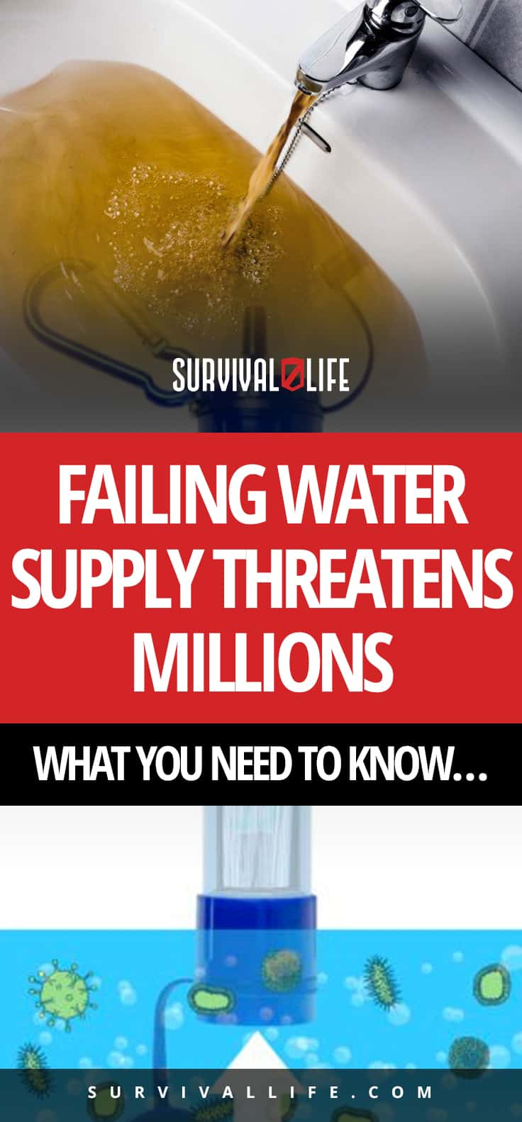 Failing Water Supply Threatens Millions- What You Need To Know…