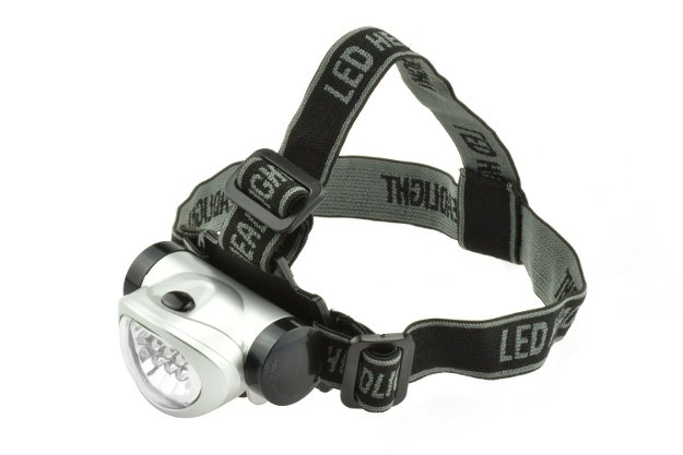 Stow Bag 8 LED Headlamp | A Christmas Wishlist For The Best Survival Gear