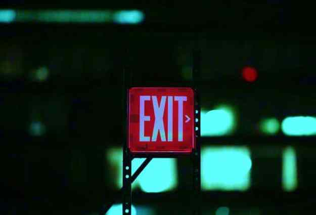 Always have an exit strategy   Safe Shoppers   How to Avoid Holiday Violence on Black Friday