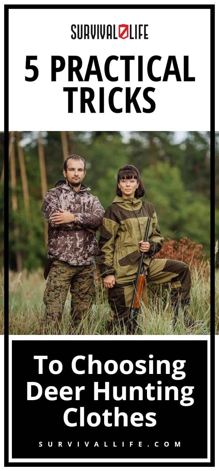 5 Practical Tricks To Choosing Deer Hunting Clothes