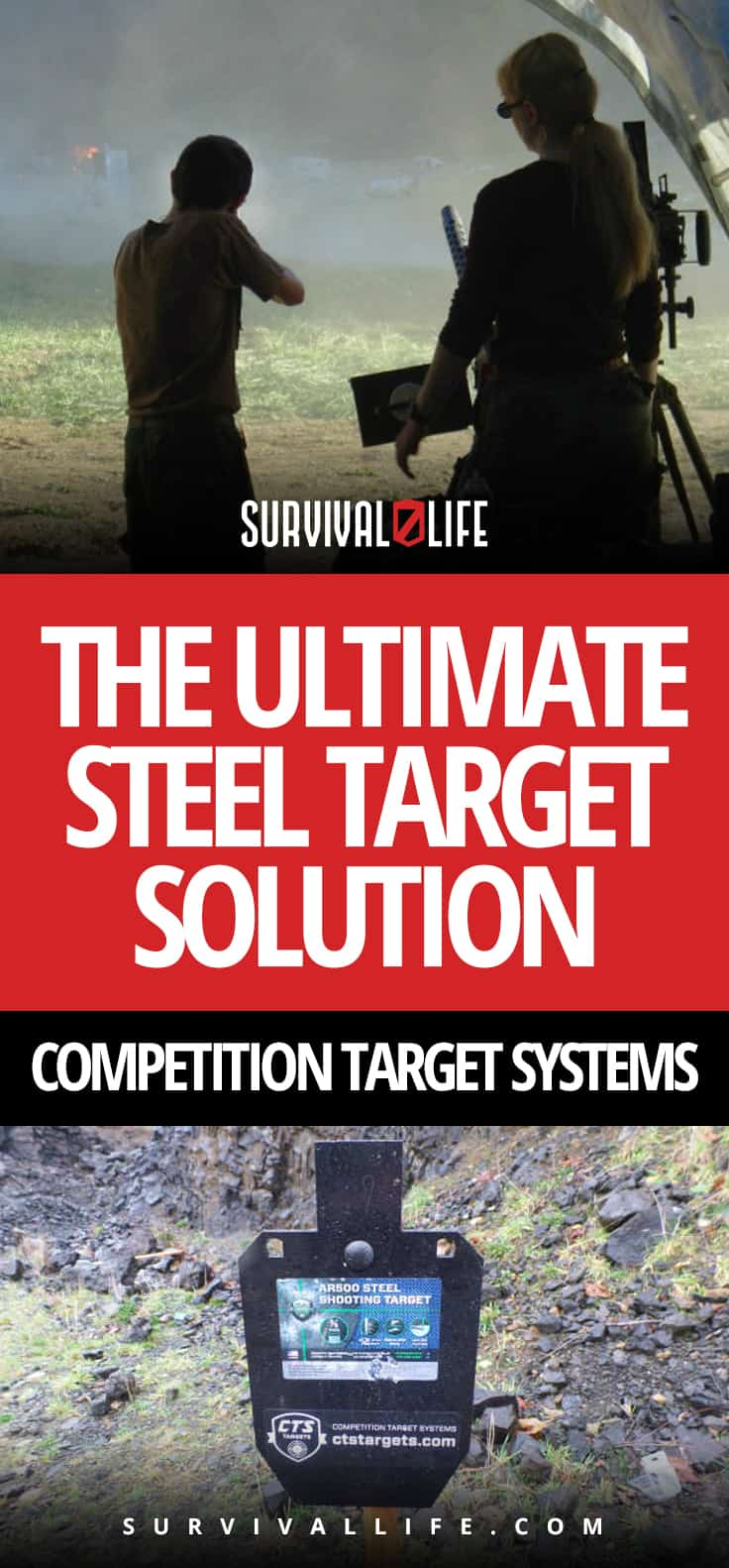 Bullseye! The Ultimate Steel Target Solution | Competition Target Systems