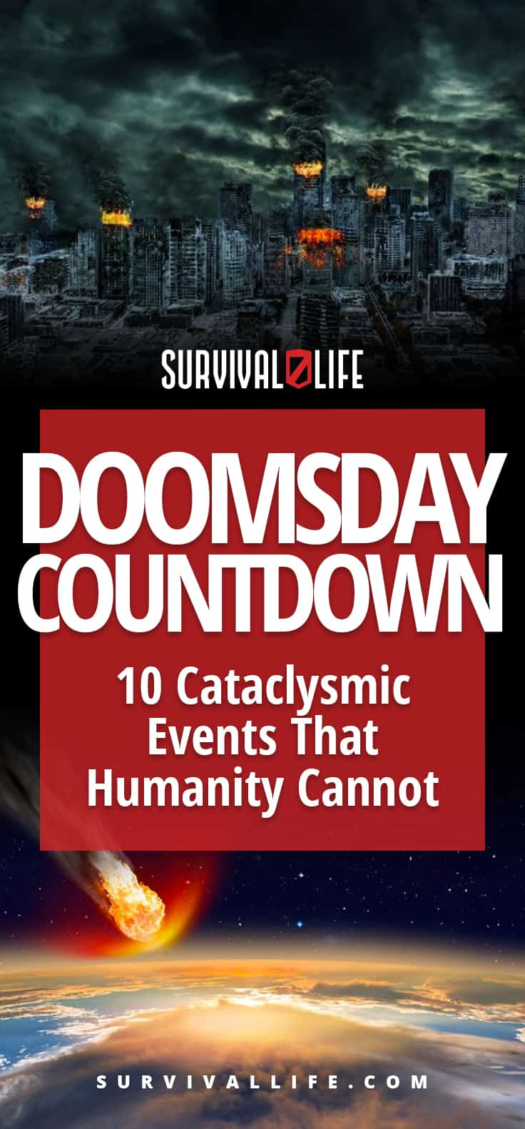 Doomsday Countdown: 10 Cataclysmic Events That Humanity Cannot Survive