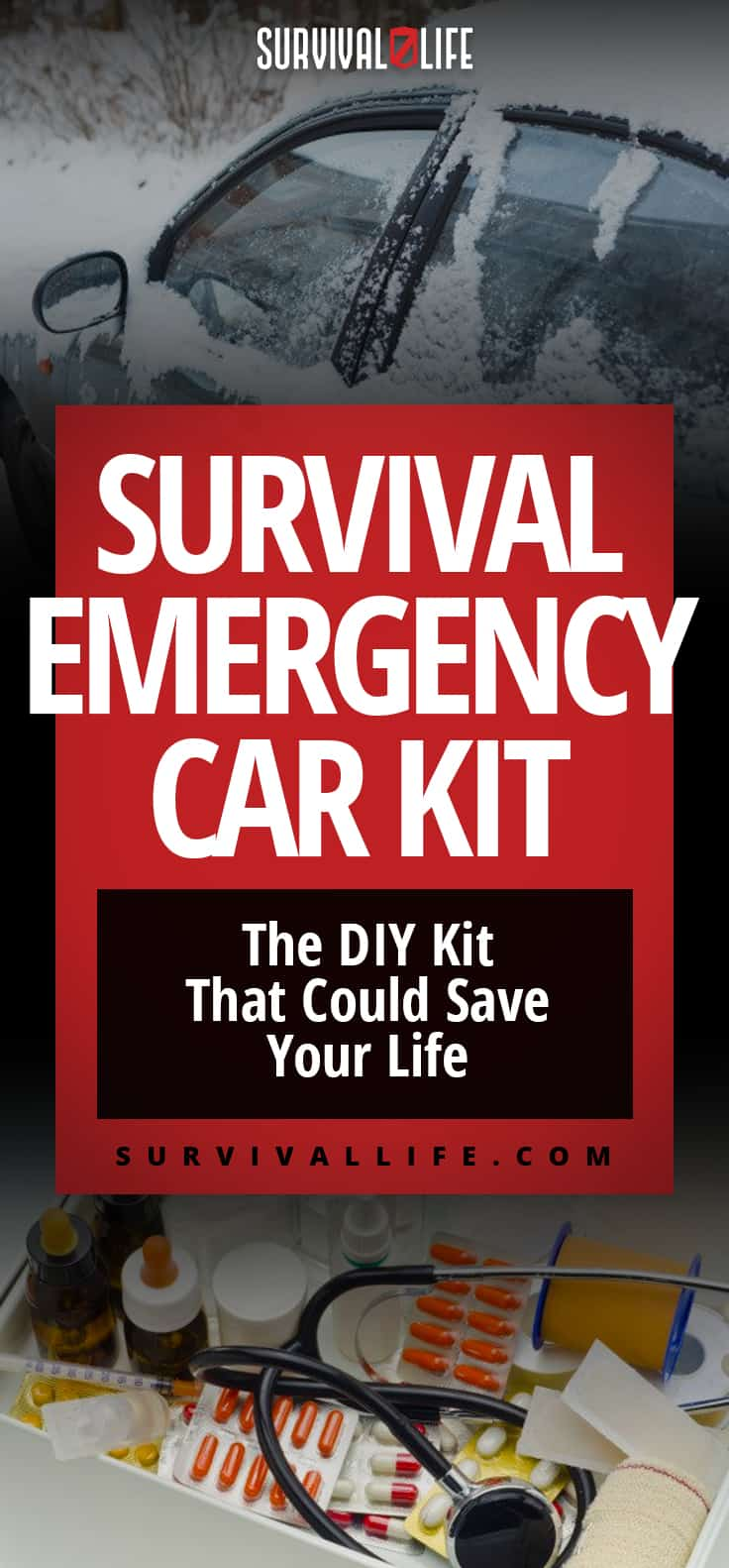 Survival Emergency Car Kit | The DIY Kit That Could Save Your Life