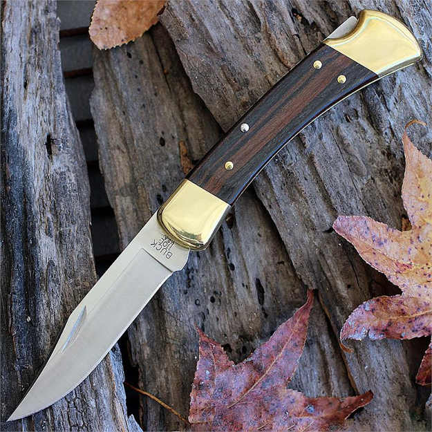 110 Folding Hunter Knife   Hunters Want These Buck Hunting Knives With Them At All Times