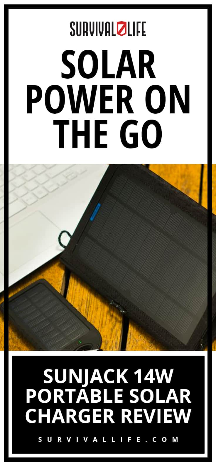 Sunjack 14W Portable Solar Charger Review | Solar Power On The Go