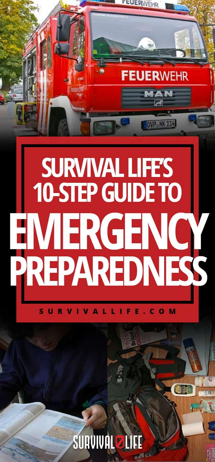 Survival Life's 10-Step Guide To Emergency Preparedness