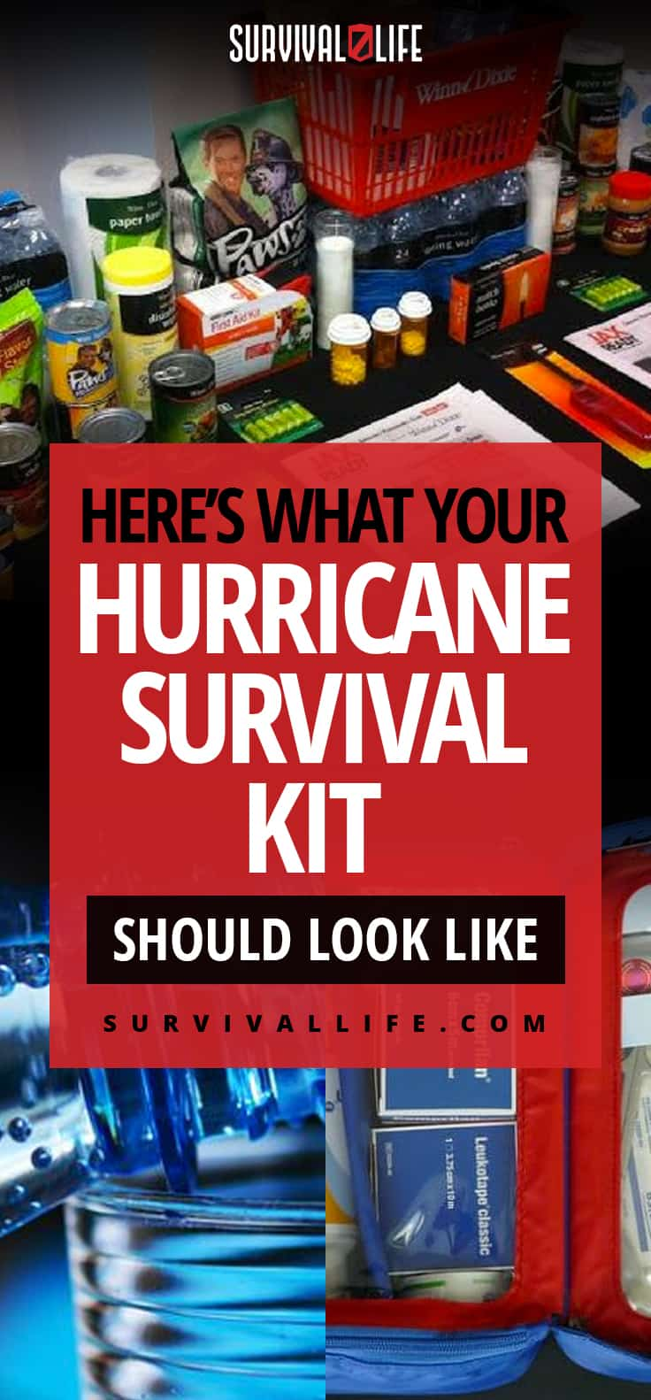 Here's What Your Hurricane Survival Kit Should Look Like