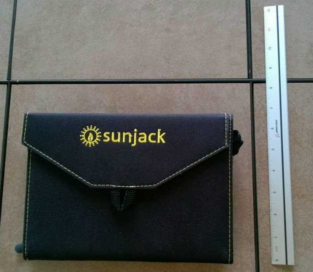 charger 1 Sunjack 14W Portable Solar Charger Review | Solar Power On The Go
