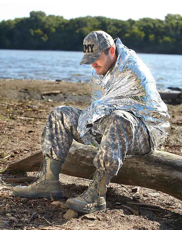 Emergency Thermal Blanket | 15 Important Survival Kit Items You Need To Prepare