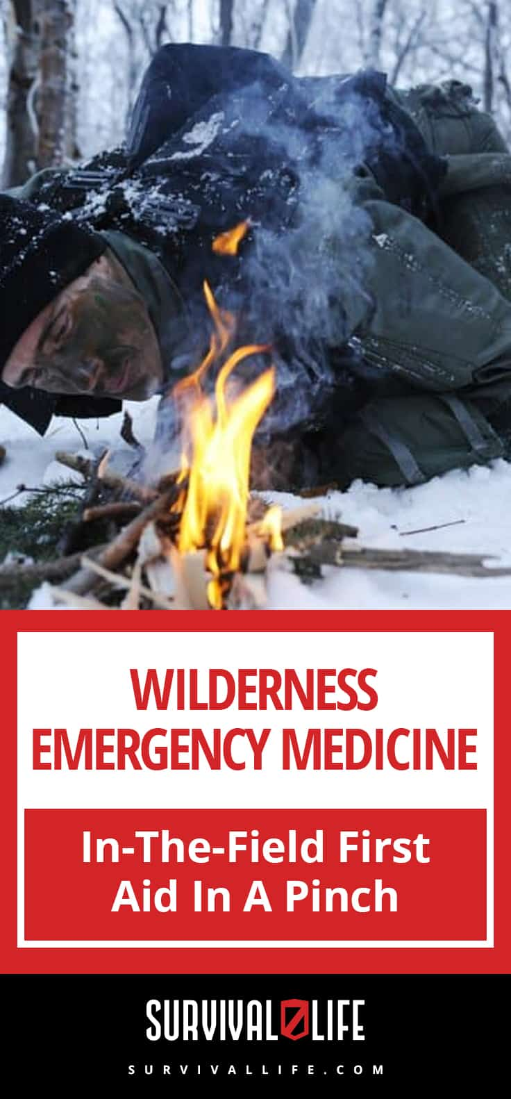 Placard | Wilderness Emergency Medicine | In-The-Field First Aid In A Pinch
