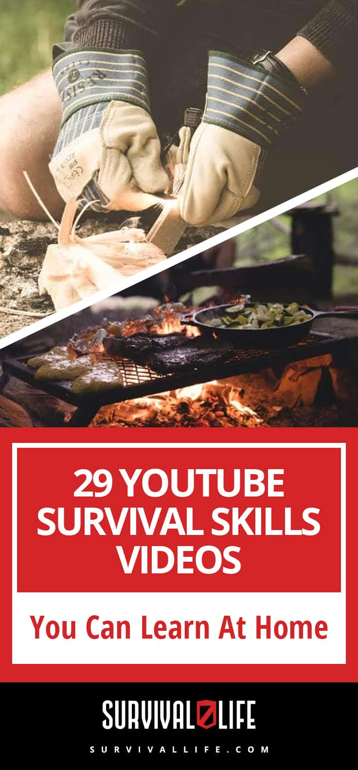 29 YouTube Survival Skills Videos You Can Learn At Home