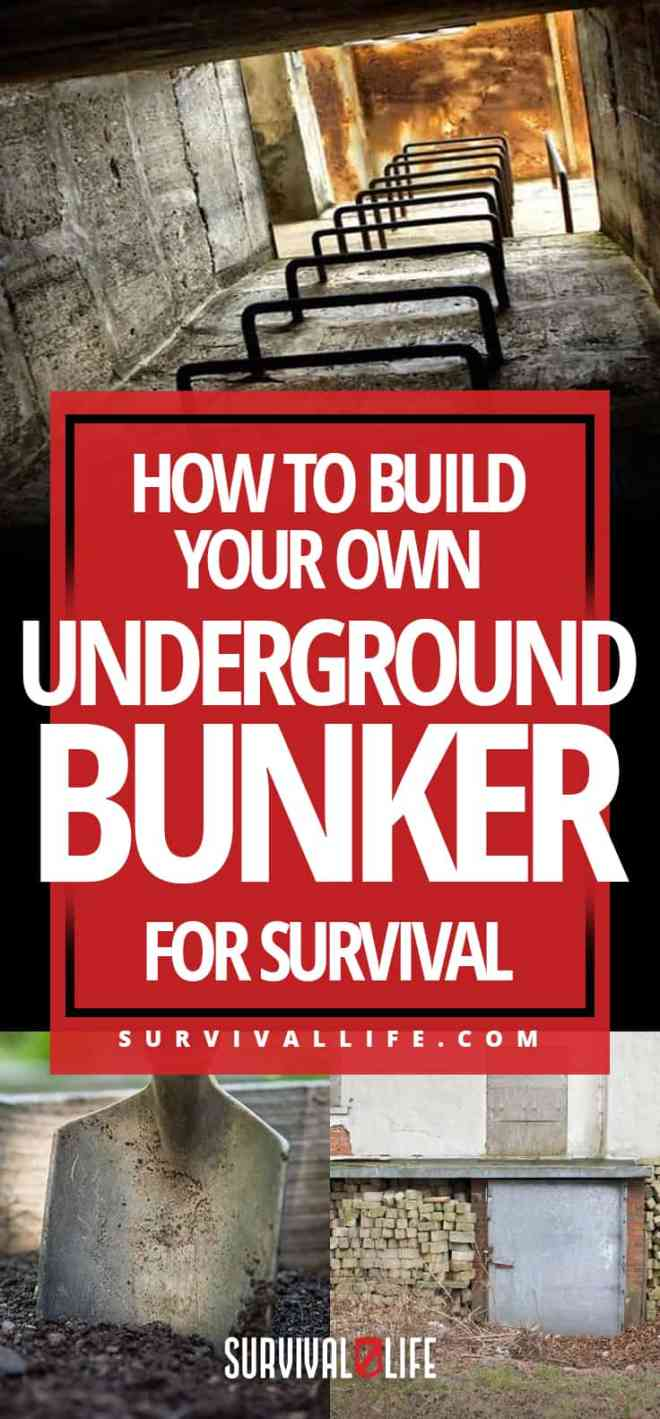 How To Build Your Own Underground Bunker For Survival | https://survivallife.com/underground-bunker/