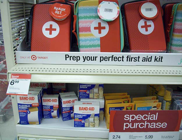 Target a First Aid Kit for Free | Disaster Survival Skills: Getting Ready for the Worst