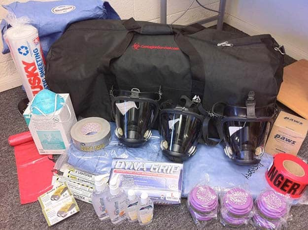 Build Your Own Survival Kit   12 Biological Weapons Survival Tips