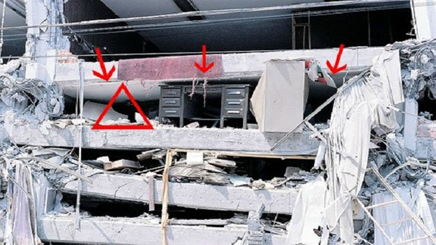 Triangle Of Life | Building Collapse Survival Tips | Survival Life