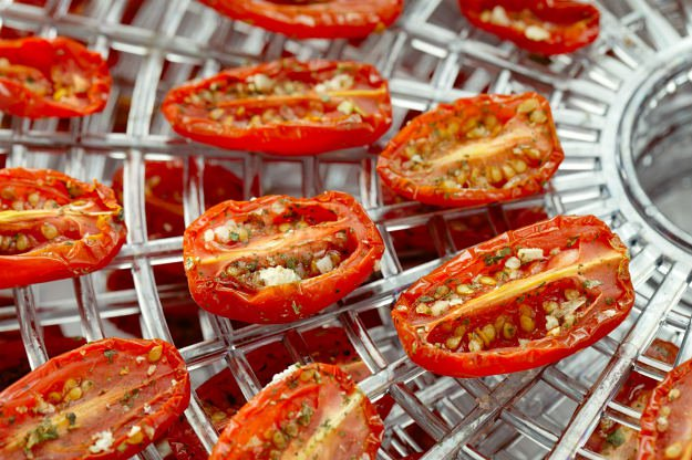 Survival Food Storage | 4 Methods Of Maintaining A Solid Food Supply dehydrated tomatoes