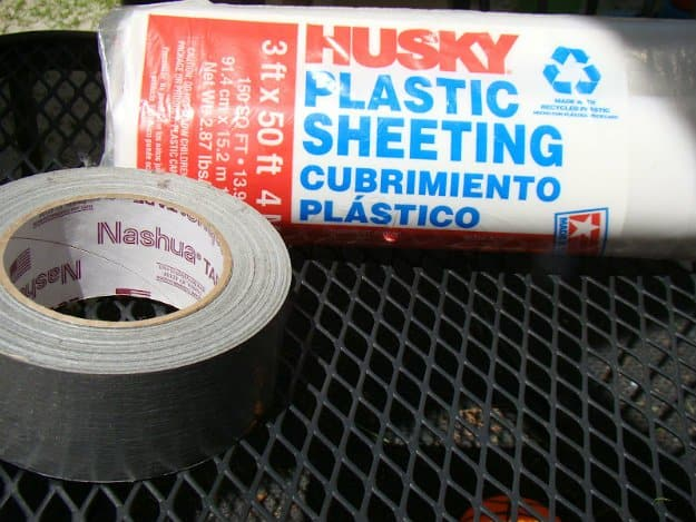 Plastic Sheeting | Emergency Survival Kit From Everyday Household Items