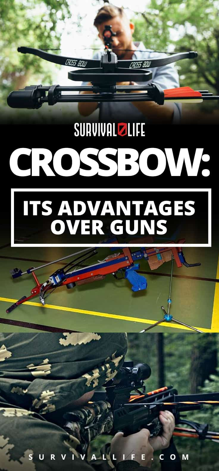 How To Use A Crossbow And Why Use It Over Guns | https://survivallife.com/how-use-crossbow/