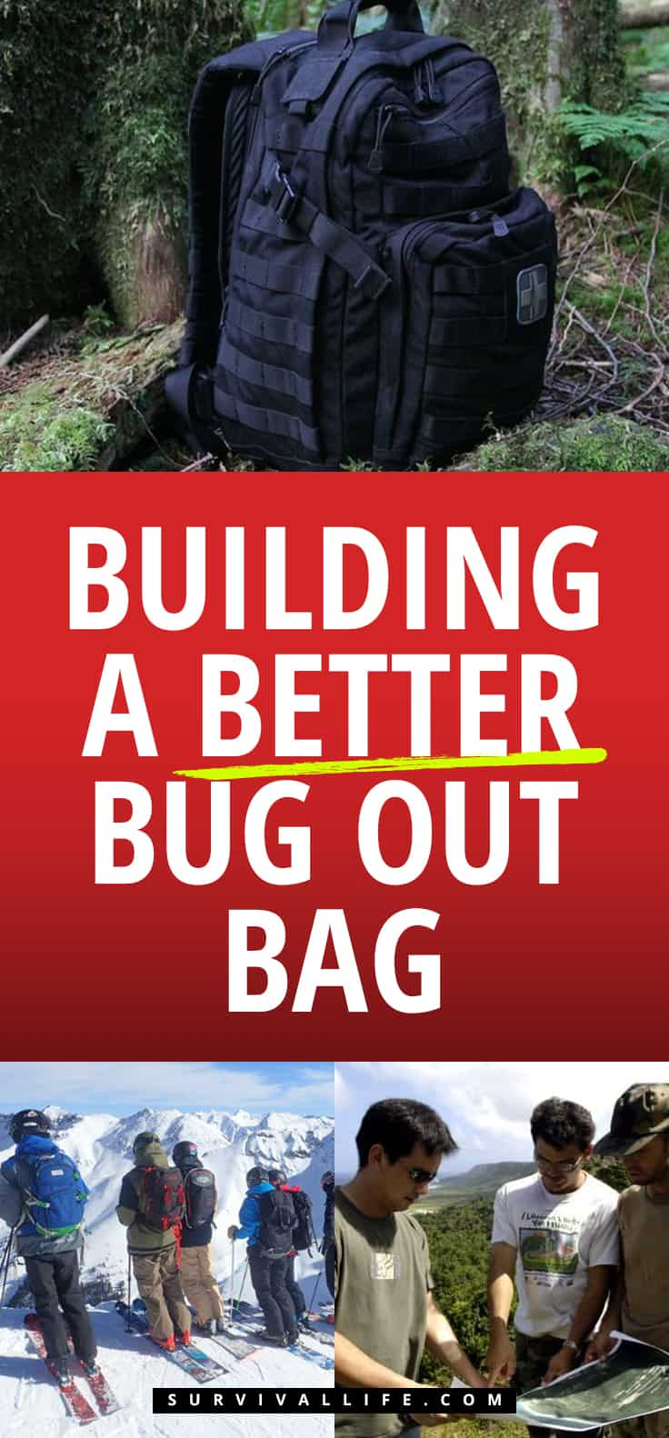 Building A Better Bug Out Bag