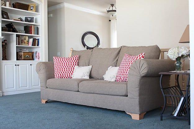Underneath Sofa Edging | 50 Easter Egg Hiding Spots