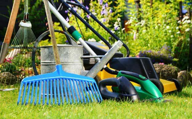 Behind Gardening Tools | 50 Easter Egg Hiding Spots