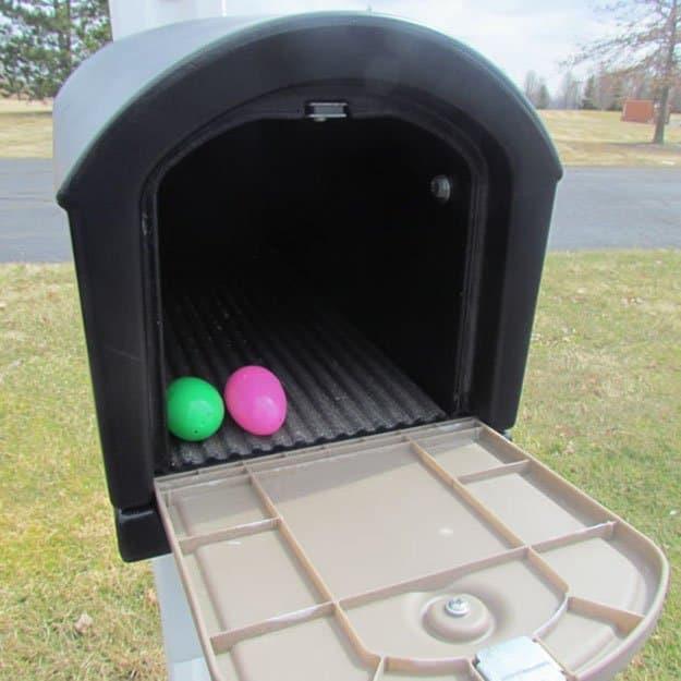 Mailbox | 50 Easter Egg Hiding Spots