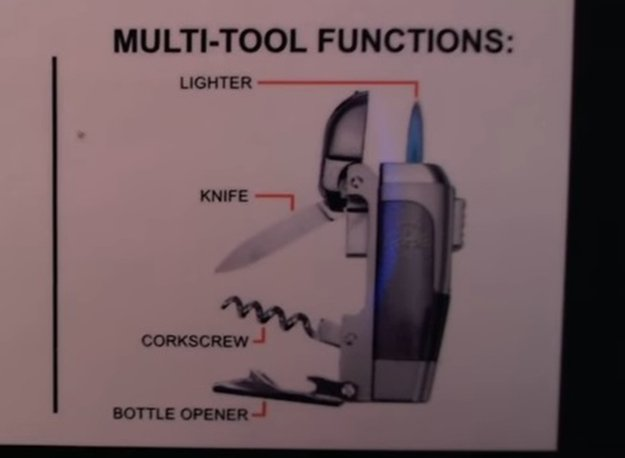 All The Multitool Functions | Spark Multitool Lighter Review