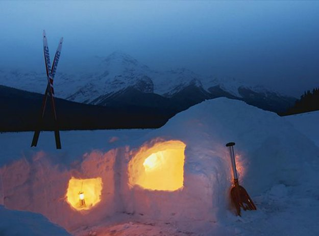 A Snow Shelter | 14 Survival Shelters You Can Build For Any Situation
