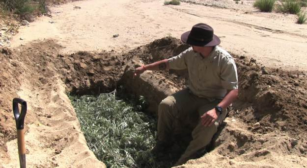 Bedding | How To Create A Dug Out Survival Shelter