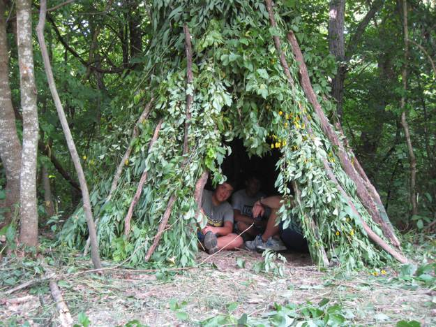 Covering | How to Build A Wickiup | Survival Life