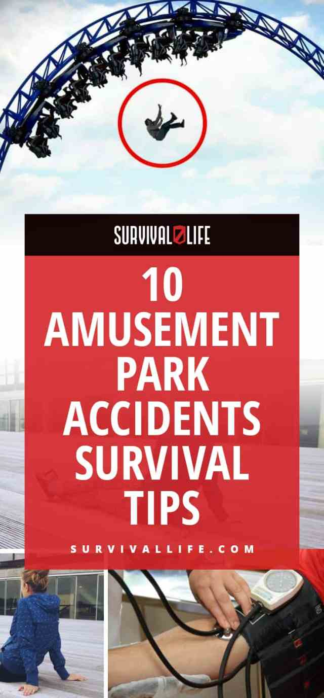 Placard | Amusement Park Accidents Survival Tips