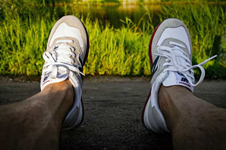A pair of White-and-gray Runnings Shoes | Minimalist Footwear...An Ultralight Essential? [Gear Review]