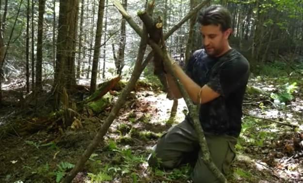 The Debris Hut Framework | Survival Shelters | Create Survival Shelters From Debris