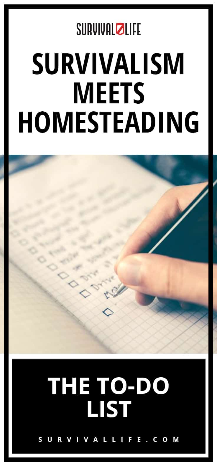 Survivalism Meets Homesteading: The To-Do List