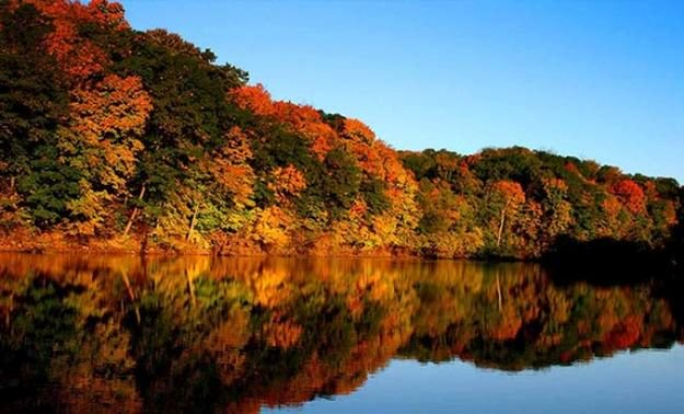 """Camping in Iowa 