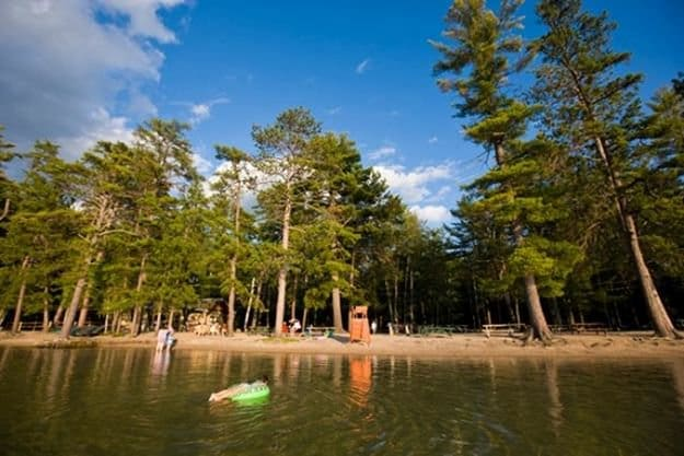 """Camping in New Hampshire 