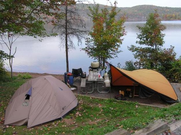 """Camping in Pennsylvania 