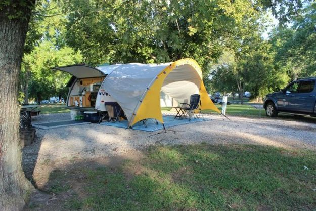 """Camping in Tennessee 