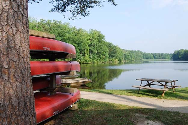 """Camping in Virginia 