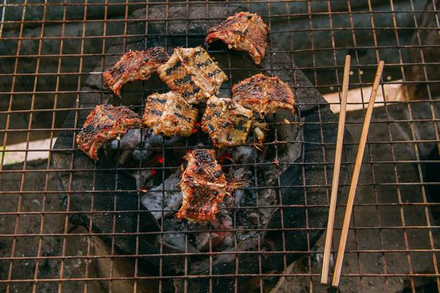Barbecued Snake | Survival Food Can You Eat Snakes For Emergency Survival?