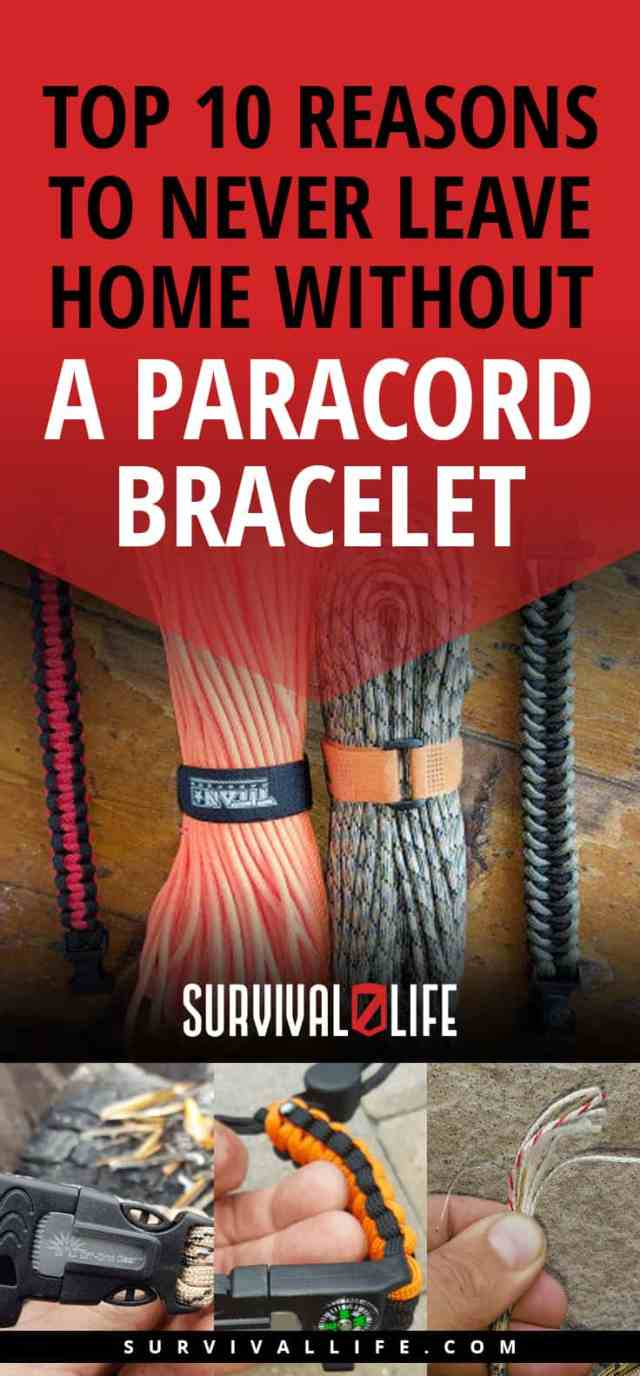 Placard | Top 10 Reasons To Never Leave Home Without A Paracord Bracelet