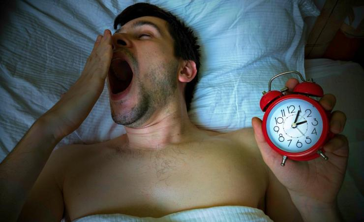 Young sleepy man is yawning and going to bed late | Outdoor Survival Skills | Tell Time In The Wild Without A Watch
