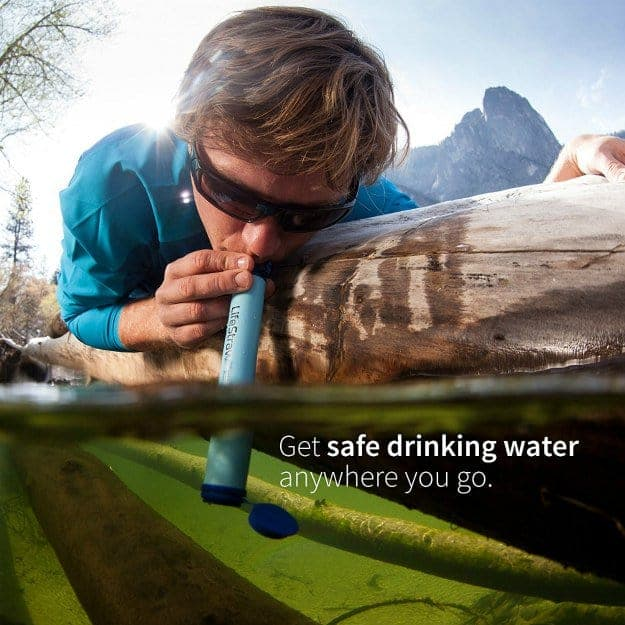 LifeStraw Personal Water Filter | Amazing Amazon Deals for Your Survival Kit Under $20